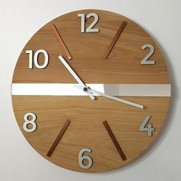 Zegar ścienny drewniany MIDDLE