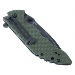 Nóż składany Sanrenmu Real Steel E77 Green
